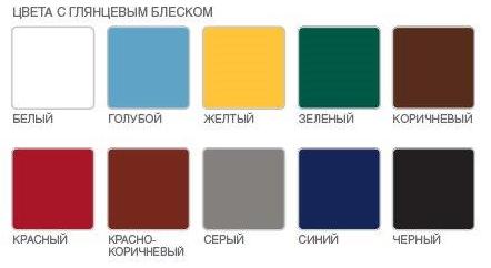Текс Ржавостоп цвета