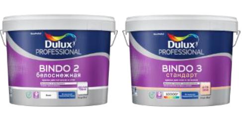 Новый дизайн - новое качество Dulux Bindo