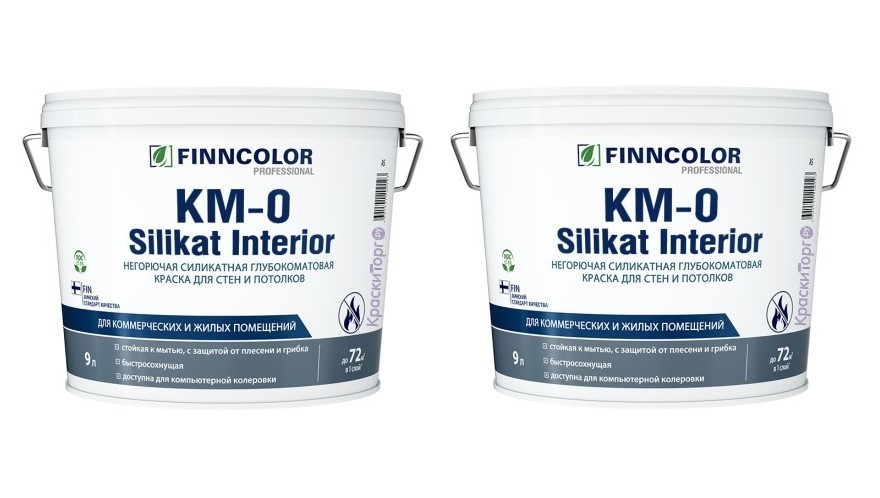 Новинка негорючей краски от Finncolor