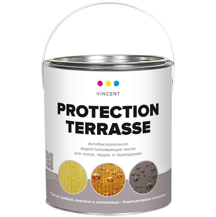 Масло для террас Vincent Protection Terrasse / Винсент
