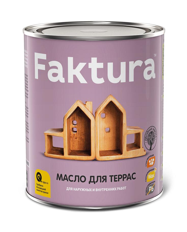 Масло для террас Faktura / Фактура шелковисто-матовое