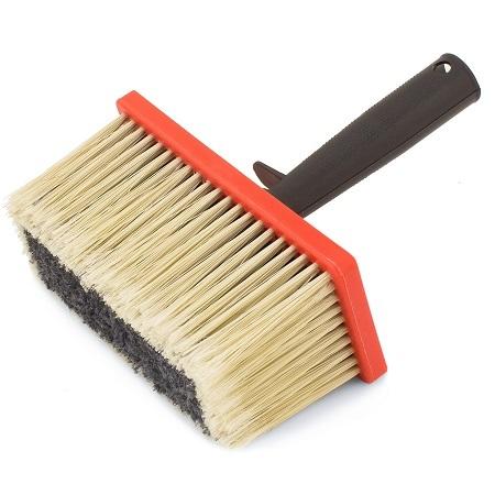 Кисть макловица для грунтовок Color Expert Profi / Колор Эксперт пластиковая ручка