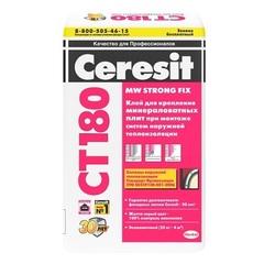 Клей для крепления минераловатных плит Ceresit CT 180 / Церезит СТ 180