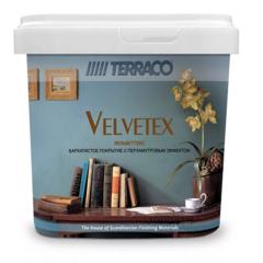 Покрытие декоративное перламутровое с эффектом бархата Terraco Velvetex / Террако Велветекс