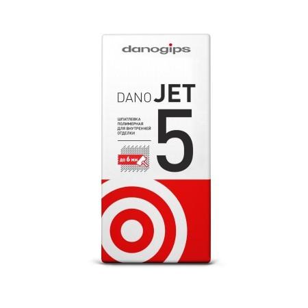 Шпатлевка полимерная Danogips Dano Jet 5 / Даногипс Дано Джет 5