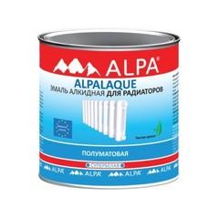 Эмаль для радиаторов Alpa Альпалак полуматовая