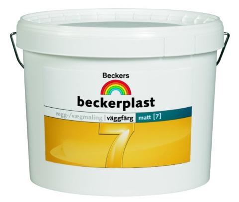 Краска для стен и потолков Beckers Beckerplast 7 / Беккерс 7 матовая