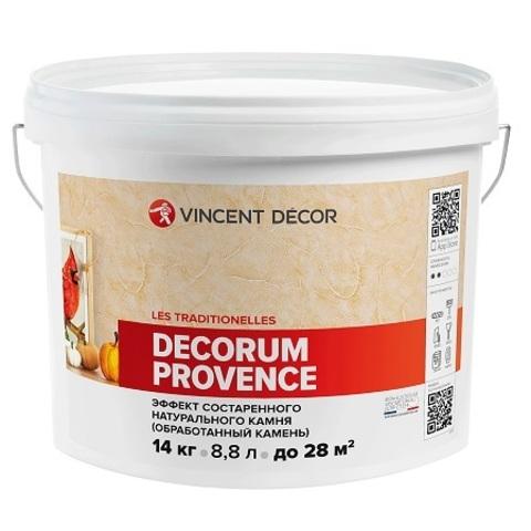Декоративная штукатурка под старинные стены Vincent Decor Decorum Provence / Винсент Декор Прованс