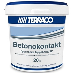 Грунтовка адгезионная бетоноконтакт Terraco Terrabond SP / Террако Террабонд