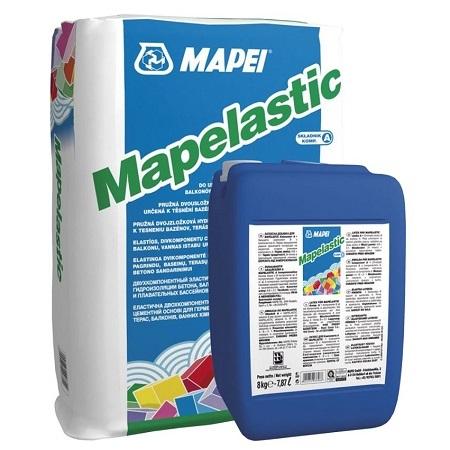 Гидроизоляция двухкомпонентная Mapei Mapelastic / Мапей Мапеластик