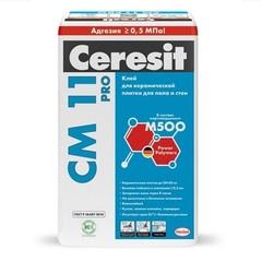 Клей для плитки универсальный Ceresit CM 11 PRO / СМ 11 ПРО