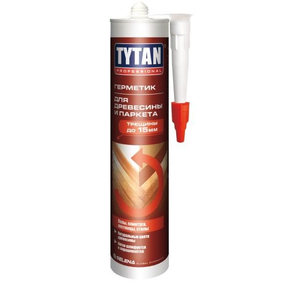 Герметик для дерева и паркета акриловый Tytan Professional / Титан Профессионал