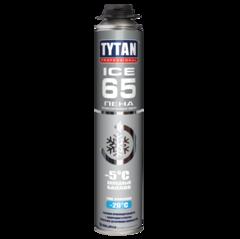 Пена монтажная профессиональная зимняя Tytan Professional Ice 65 / Титан Профессионал Айс