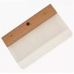 Шпатель с двойной лопаткой для декоративных штукатурок Boldrini / Болдрини