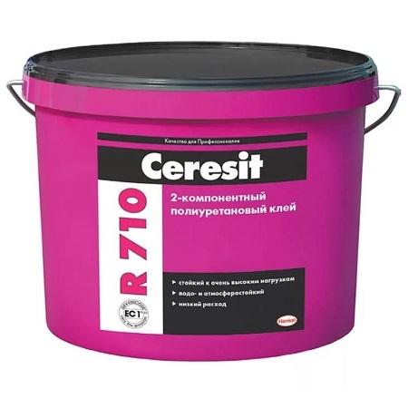 Клей полиуретановый, двухкомпонентный для напольных покрытий Ceresit R 710 / Церезит