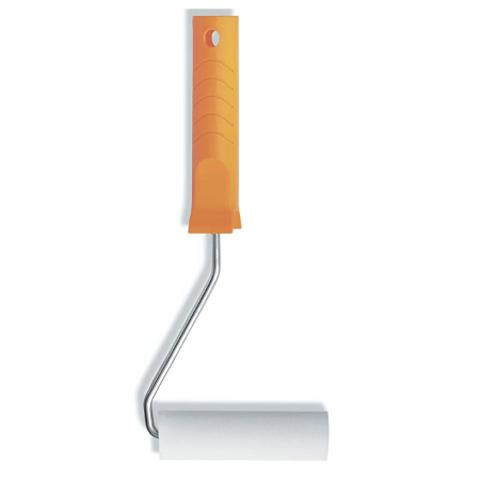 Мини валик с ручкой Color Expert Basis / Колор Эксперт мелкопористый поролон