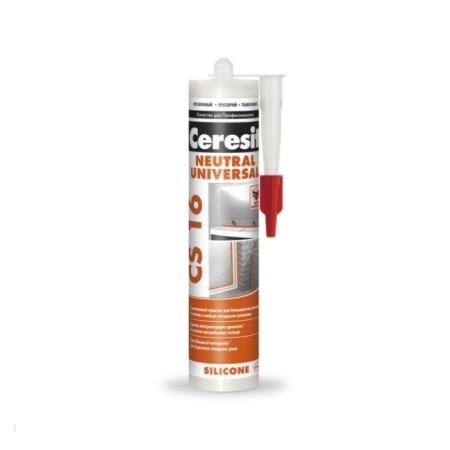 Герметик силиконовый, нейтральный Ceresit CS 16 Neutral Universal / Церезит
