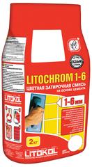Затирка для плитки цементная Litokol Litochrom 1-6 / Литокол Литохром