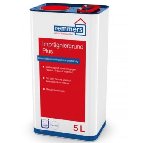 Грунтовка для древесины Remmers Imprägniergrund Plus / Реммерс
