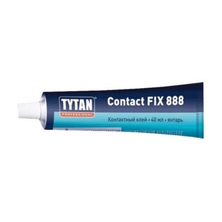 Клей контактный водостойкий Tytan Professional Contact Fix 888 / Титан Контакт Фикс