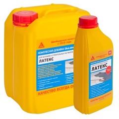 Добавка эластичная в растворы и стяжки Sika Latex / Зика Латекс