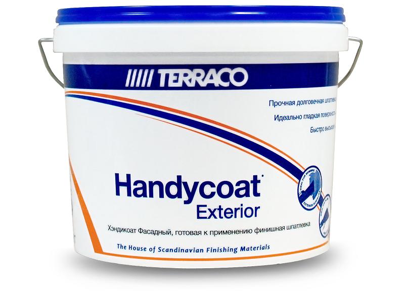 Шпатлевка финишная фасадная Terraco Handycoat Exterior / Террако Хэндикоат Экстериор