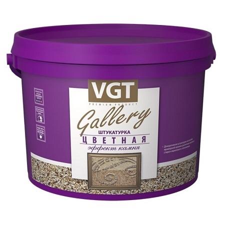 Штукатурка декоративная среднезернистая Эффект Камня VGT Gallery / ВГТ