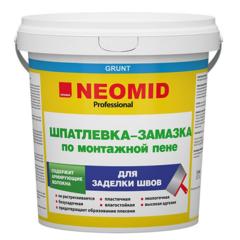 Шпатлевка-замазка по монтажной пене Neomid  / Неомид