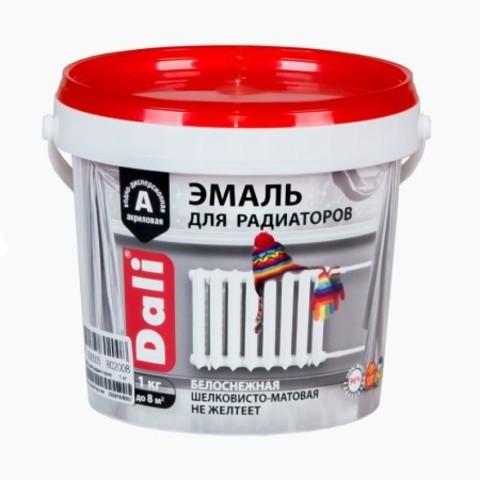 Эмаль для радиаторов акриловая Dali / Дали