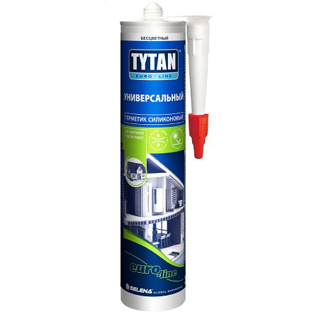 Герметик силиконовый, универсальный Tytan Euro-Line / Титан