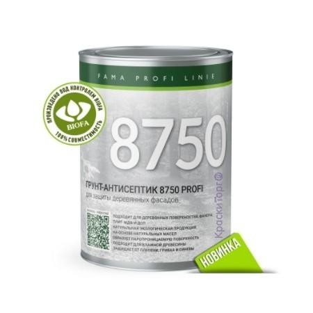 Грунт-антисептик для древесины Biofa 8750 Profi / Биофа