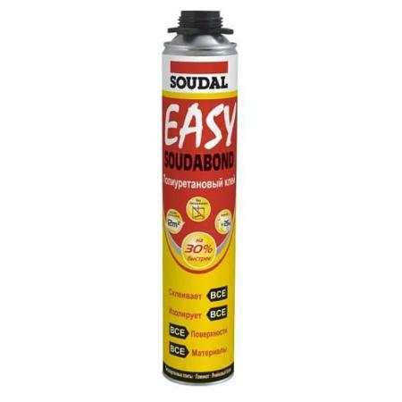 Пено-клей полиуретановый под пистолет Soudal Soudabond Easy / Соудал Соудабонд Изи