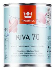 Лак для мебели Tikkurila Kiva 70 / Тиккурила Кива 70 глянцевый