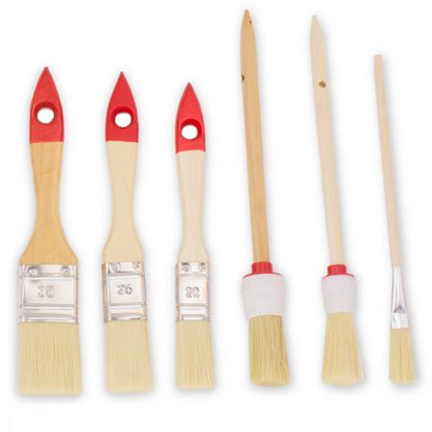 Набор кистей Color Expert / Колор Эксперт 82620550 деревянная ручка 6 шт