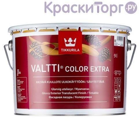 Лазурь фасадная для древесины Tikkurila Valtti Сolor Extra / Тиккурила Валтти Колор Экстра