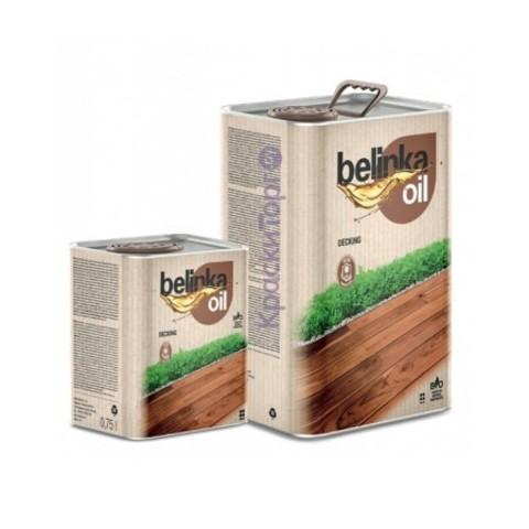 Масло для террас и наружных работ Belinka Oil Decking / Белинка Ойл Деккинг