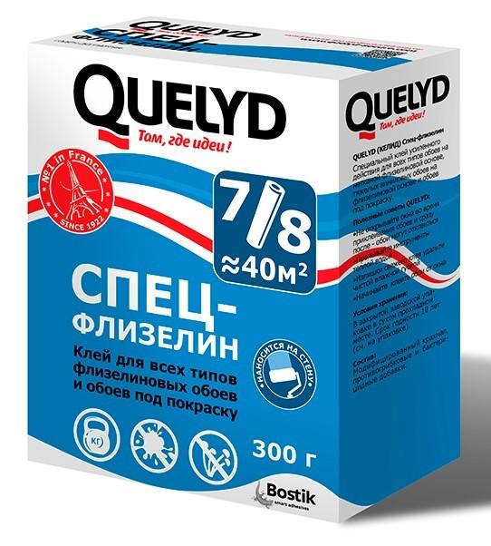 Клей для обоев Quelyd / Келид Спец-Флизелин