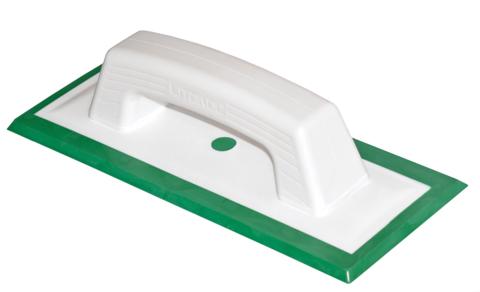 Шпатель для затирки Litokol 946 GR резиновый 108*260 мм / Литокол