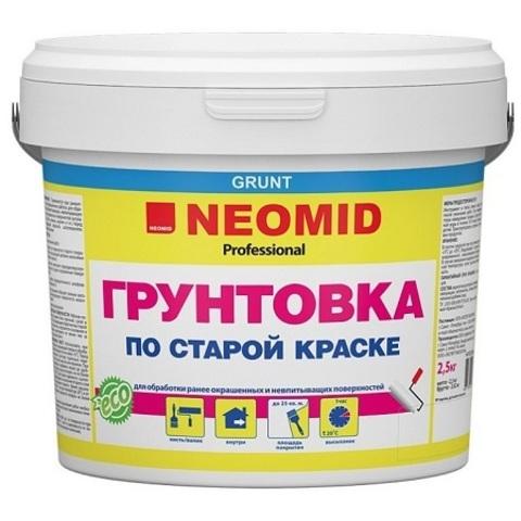 Грунтовка по старой краске Neomid / Неомид