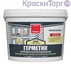 Герметик шовный для срубов Neomid Wood Professional Plus / Неомид Теплый Дом Плюс