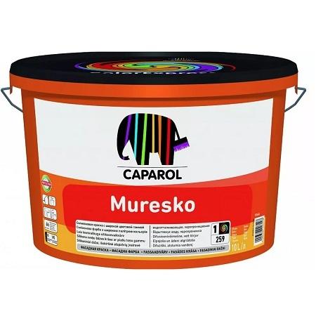 Краска фасадная на основе силакрила Caparol Muresko / Капарол Муреско