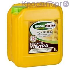 Состав антисептический пропиточный для древесины Woodmaster Биосепт-Ультра / Вудмастер