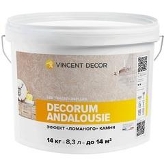 Эффект «ломаного» камня Vincent Decor Decorum Andalousie / Винсент Декор