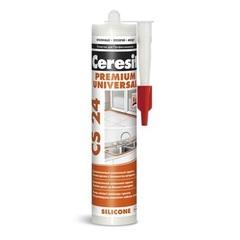 Герметик силиконовый, универсальный Ceresit CS 24 Premium Universal / Церезит