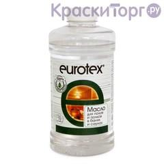 Масло натуральное для защиты полков бань и саун Eurotex