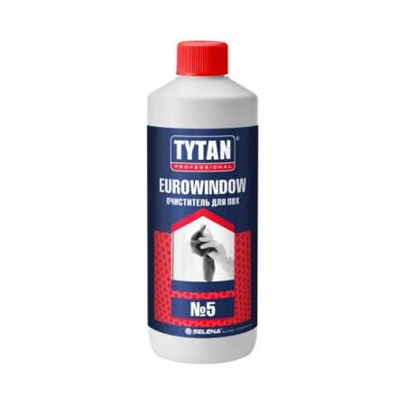 Очиститель для пластика ПВХ Tytan Professional Eurowindow / Титан