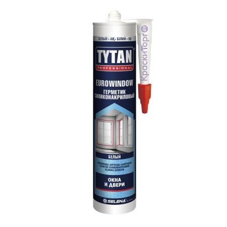Герметик силиконакриловый для окон и дверей Tytan Professional Eurowindow / Титан