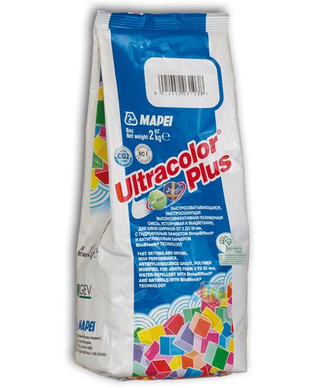 Затирка для плитки на цементной основе Mapei Ultracolor Plus / Мапей Ультраколор Плюс