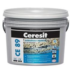 Затирка эпоксидная двухкомпонентная для плитки Ceresit CE 89 Ultraepoxy Premium / Церезит