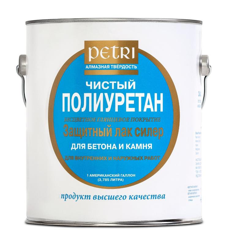 Лак для бетона и камня Petri Concrete&Stone Sealer / Петри Силер матовый